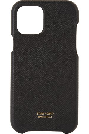 TOM FORD Phones Cases - Black Grained Leather iPhone 12 Case