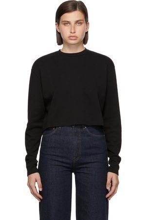 WARDROBE.NYC Long Sleeve Crop T-Shirt