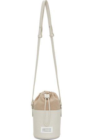 Maison Margiela Off-White Mini 5AC Bucket Bag