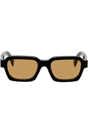 Retrosuperfuture Men Sunglasses - Black & Orange Caro Sunglasses