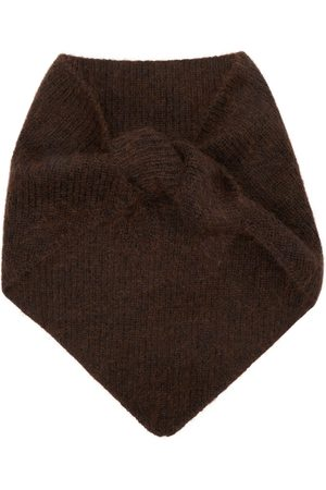 Solid Homme Brown Muffler Scarf