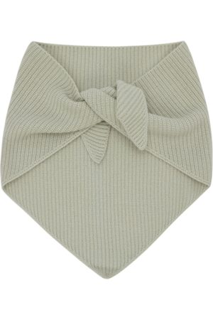 Solid Homme Green Muffler Scarf