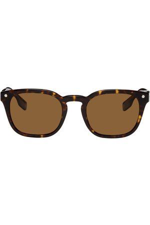 Burberry Men Square - Tortoiseshell Square Sunglasses