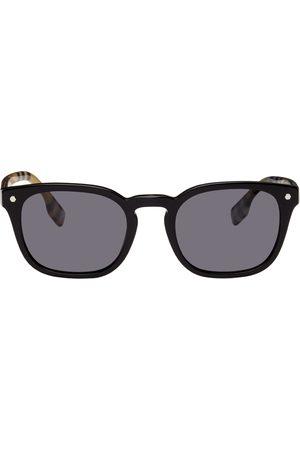 Burberry Men Square - Vintage Check Square Sunglasses