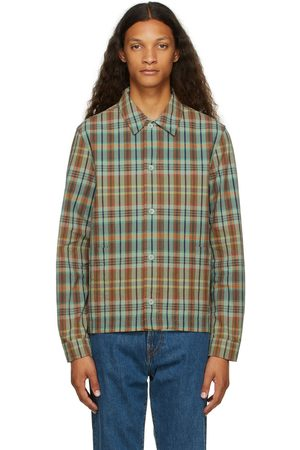 PS by Paul Smith Green Check Shirt