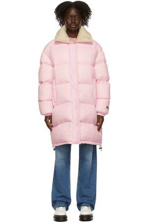 MSGM Pink Down Puffer Coat