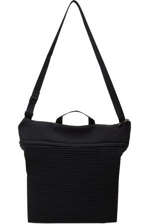 Homme Plissé Issey Miyake Men Luggage - Black Roll Pleats Bag