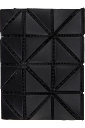 Bao Bao Issey Miyake Black Matte Card Wallet