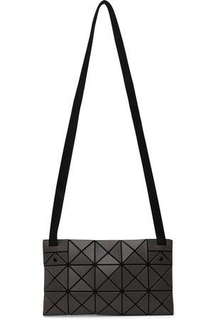 Bao Bao Issey Miyake Grey Matte Lucent Crossbody Bag
