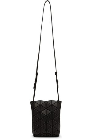Bao Bao Issey Miyake Black Flap Shoulder Crossbody Bag