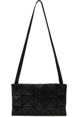 Bao Bao Issey Miyake Black Matte Lucent Crossbody Bag