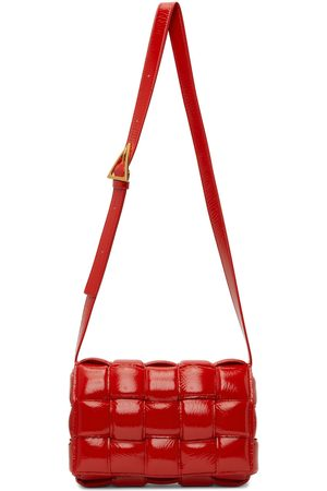 Bottega Veneta Red Padded Cassette Bag