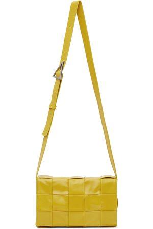 Bottega Veneta Yellow Intrecciato Cassette Bag