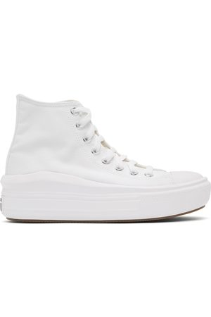 Converse White All Star Move High-Top Sneakers