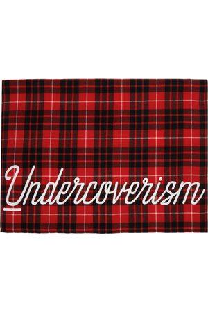 Undercoverism Check Logo Scarf