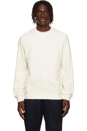 Brunello Cucinelli Men Sweatshirts - Off-White French Terry Sweatshirt