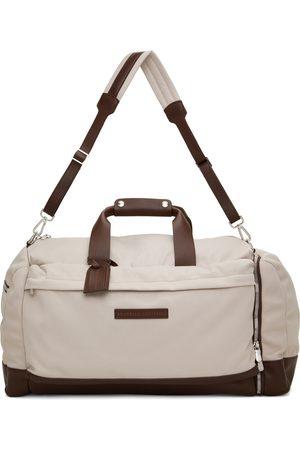 Brunello Cucinelli Men Luggage - Beige Active Duffle Bag