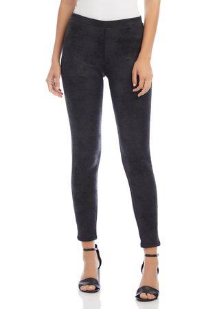 Karen Kane Women's Stretch Faux Leather Pants