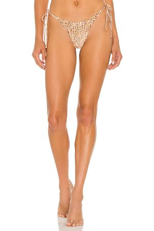 L*Space Lennox Classic Bikini Bottom in Blush.