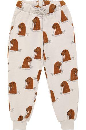 Mini Rodini Walrus cotton sweatpants