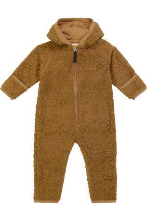 Molo Umeko zipped hooded cotton-blend onesie