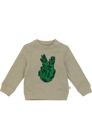 STELLA McCARTNEY Kids Tops - Baby printed organic cotton top