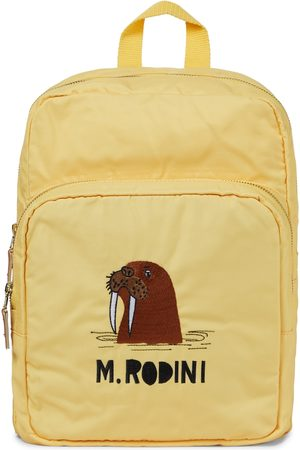 Mini Rodini Walrus printed backpack