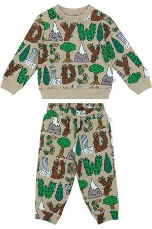 STELLA McCARTNEY Kids Accessories - Baby printed organic cotton jersey tracksuit