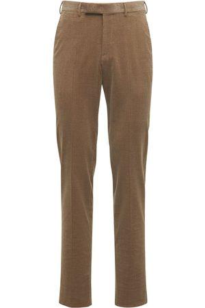 Ermenegildo Zegna 18.5cm Cotton & Cashmere Corduroy Pants