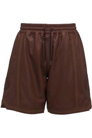 JUST DON Men Shorts - Leather Shorts