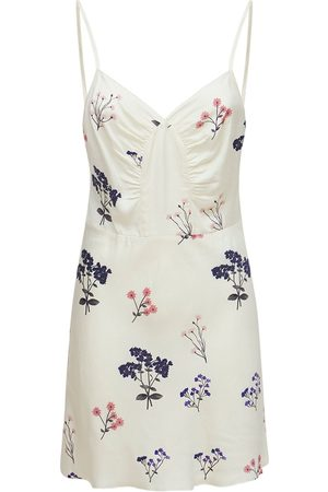 SELF-PORTRAIT Vintage Printed Viscose Mini Dress