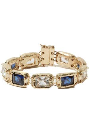 Bleue Burnham Sapphire & Recycled 9kt Bracelet - Mens