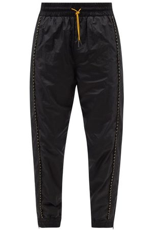 Fendi Piped Technical-shell Track Pants - Mens