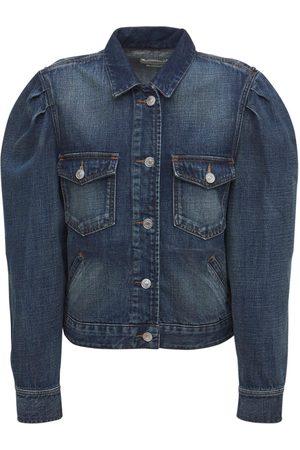 ISABEL MARANT ÉTOILE Men Denim Jackets - Bolinea Cotton Denim Jacket