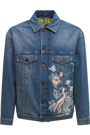 ETRO Printed Denim Jacket