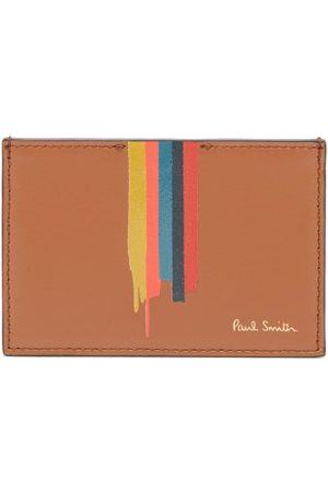 Paul Smith Men Wallets - Artist-stripe Leather Cardholder - Mens