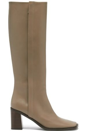 The Row Patch Leather Knee-high Boots - Womens