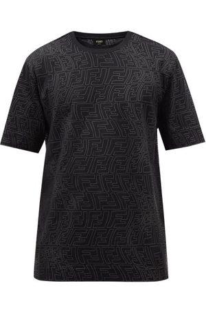 Fendi Ff Fisheye-print Jersey T-shirt - Mens