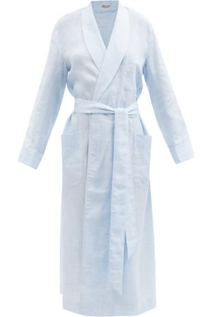 Charvet Women Bathrobes - Belted Linen Robe - Womens - Light