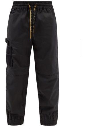 Fendi Men Cargo Pants - Zip-off Cargo Shell Track Pants - Mens