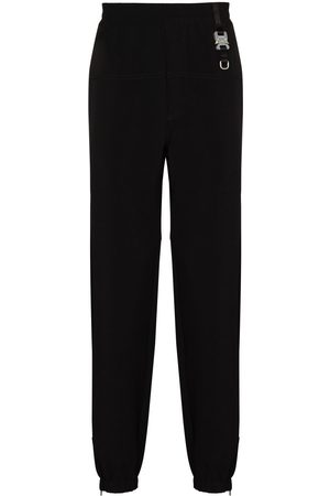 1017 ALYX 9SM Buckle-detail tapered track pants