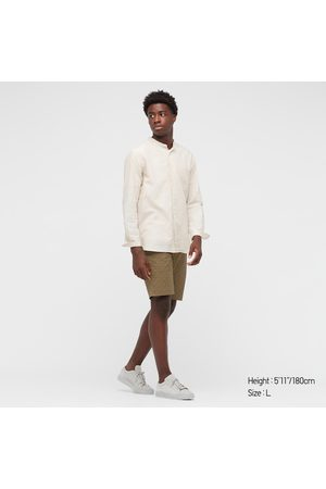 UNIQLO Men's Stretch Slim-Fit Patterned Shorts, , XS