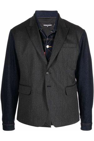 Dsquared2 Contrast-sleeve blazer