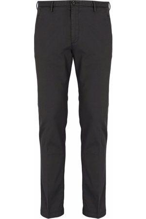 HUGO BOSS Slim-fit chino trousers - Grey