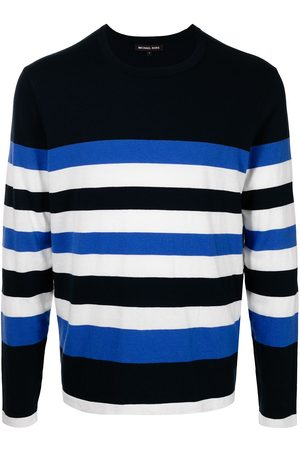 Michael Kors Striped crew-neck jumper