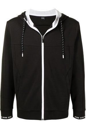 HUGO BOSS Men Hoodies - Logo-print sleeve hoodied