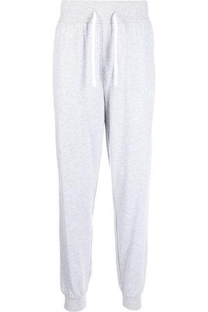 HUGO BOSS Logo-print leg trousers - Grey