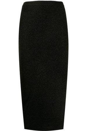 Armani Exchange High-waisted pencil skirt