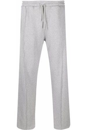 424 FAIRFAX Embroidered logo track pants - Grey