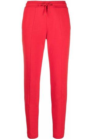 Love Moschino Women Sweatpants - High-waisted logo-print trousers